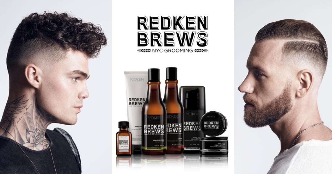 Redken brews blog banner